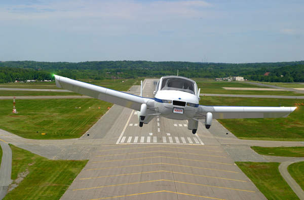 The unique Transition aircraft, which can be driven on road, was tested in March 2012. Image courtesy of Terrafugia.