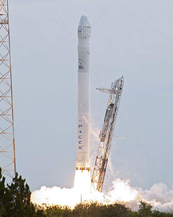 The SES-8 communication satellite was launched on a Falcon 9 rocket.