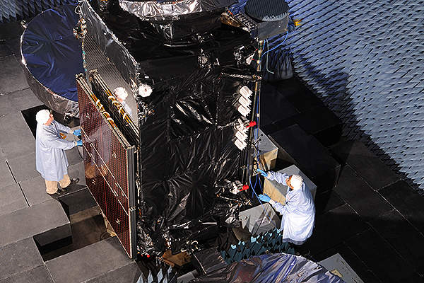 The Thaicom 6 will mainly provide high-definition and digital television services for Thailand. Image courtesy of Orbital Sciences Corporation.