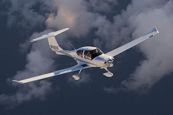 The aircraft incorporates many features from DA40 XLS version. Image courtesy of Diamond Aircraft.