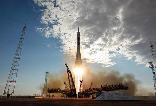 The 114th flight Soyuz TMA-05M was launched on Soyuz-FG rocket from Baikonur Cosmodrome in July 2012.