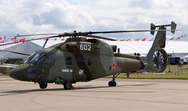 The Kamov Ka-60 is a military aircraft. Image courtesy of .:Ajvol:.