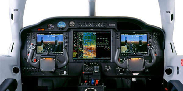 The TBM 850 comes with an avionics system that includes a three-axis autopilot, colour weather radar, terrain avoidance system, in-flight traffic avoidance system (TCAS).