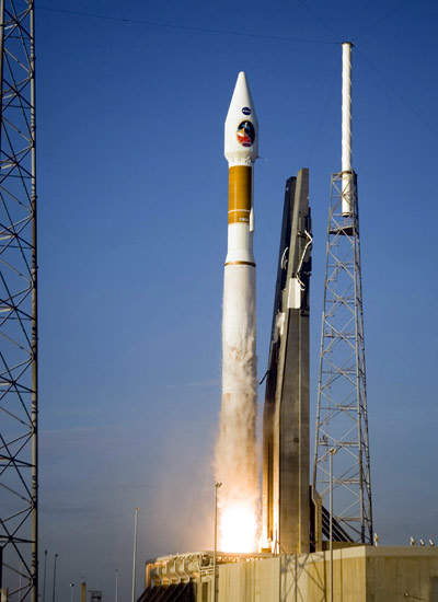 The WGS-1 was launched into orbit on 10 October 2007 on the United Launch Alliance (ULA) Atlas V launch vehicle.