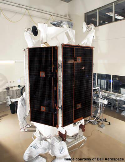 WorldView-1 satellite