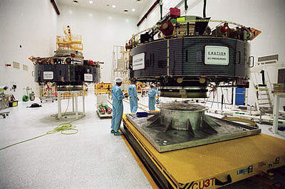The European Space Agency (ESA) has extensive technical facilities.