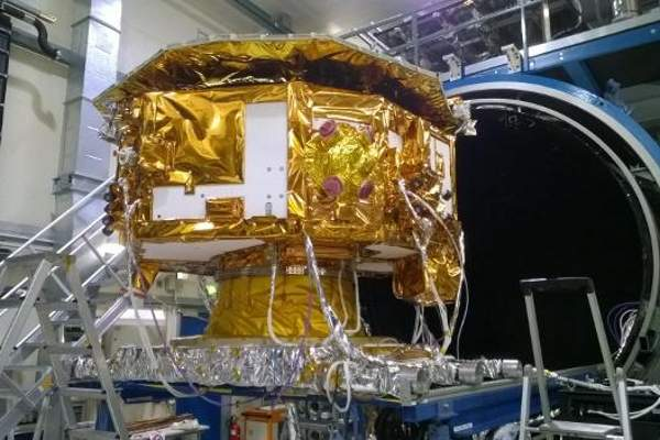 The spacecraft is scheduled to be launched in September 2015. Image: courtesy of ESA, J Huesler.