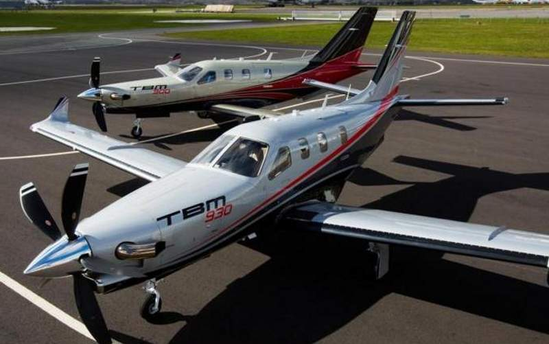The aircraft is an enhanced version of TBM 900. Image courtesy of Daher.
