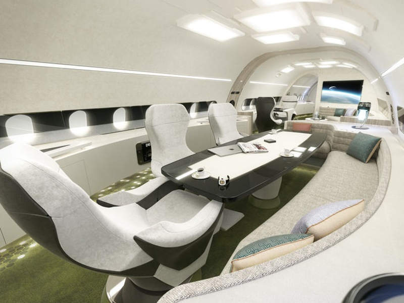 Melody cabin designs of the aircraft were unveiled in November 2016. Image courtesy of Airbus SAS.
