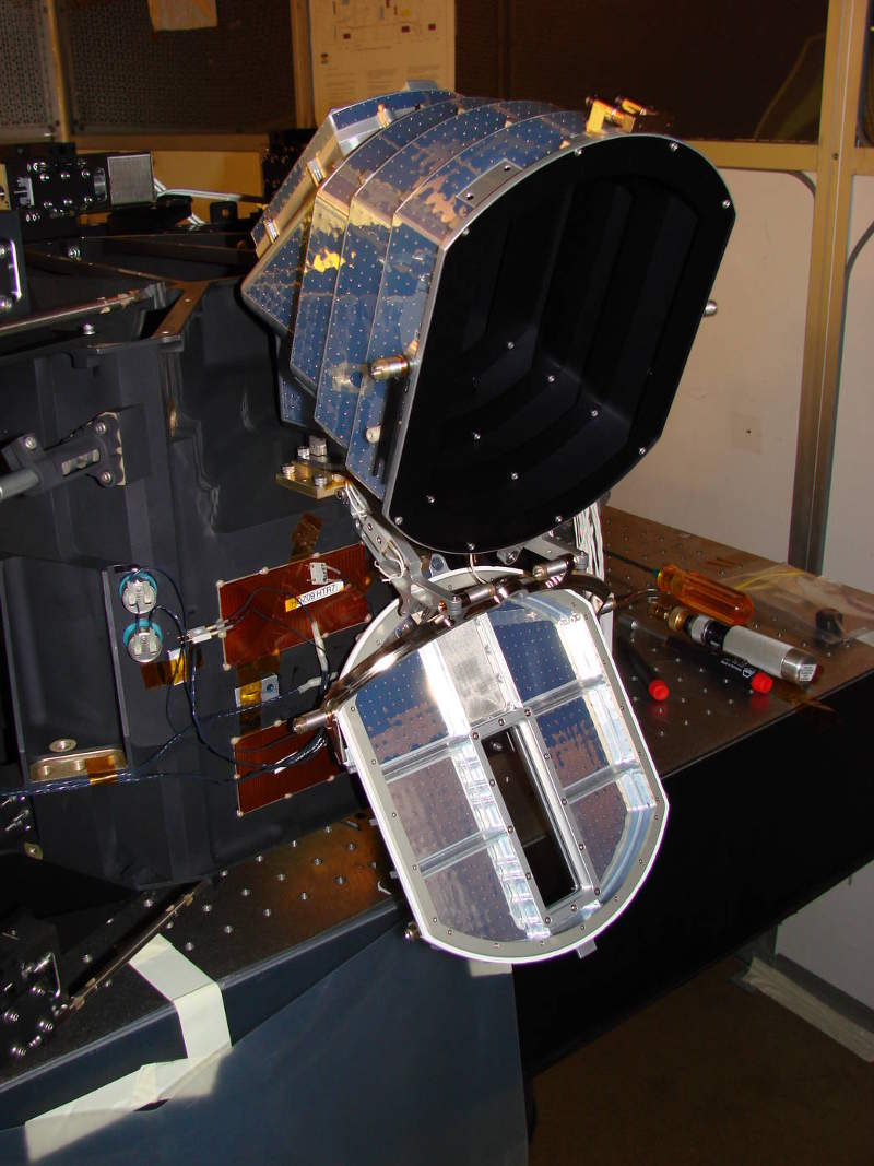 The satellite will include Far Ultra Violet Imaging Spectrograph. Image: courtesy of Nasa/UC Berkeley/ICON.