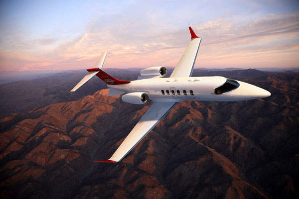 The aircraft has a maximum range of 2,060 nautical miles. Image courtesy of Bombardier.