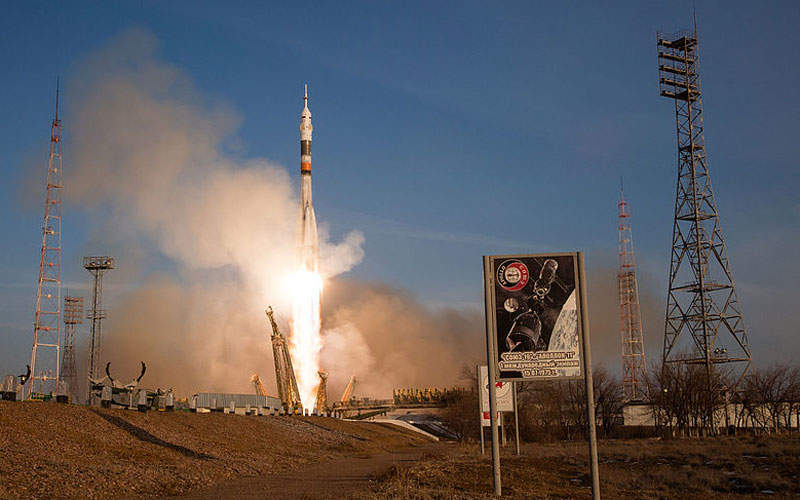 The spacecraft was lifted off on top of Soyuz-FG rocket.