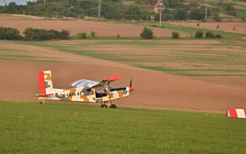 The aircraft's first flight tests were completed in September 2015. Credit: Kubíček Aircraft.