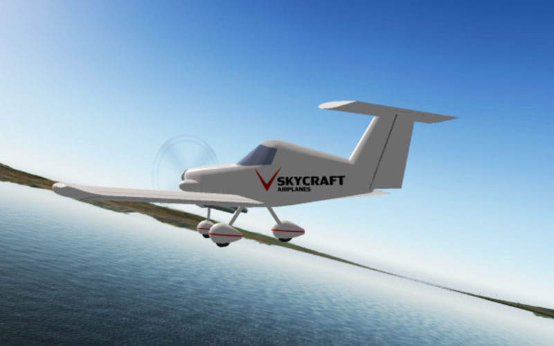The flight test programme of SD-1 aircraft was completed in May 2014. Credit: SkyCraft Airplanes.