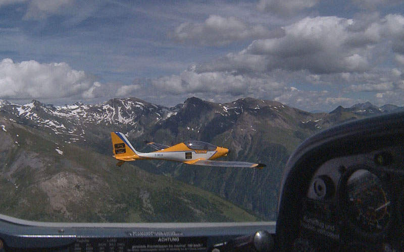 The aircraft successfully crossed over the Alps in both directions in 2015. Image courtesy of PC-Aero.