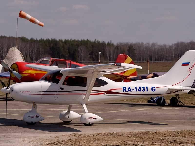 The ultra-light sports aircraft completed first flight in May 2008. Image courtesy of Aleksandr Markin.