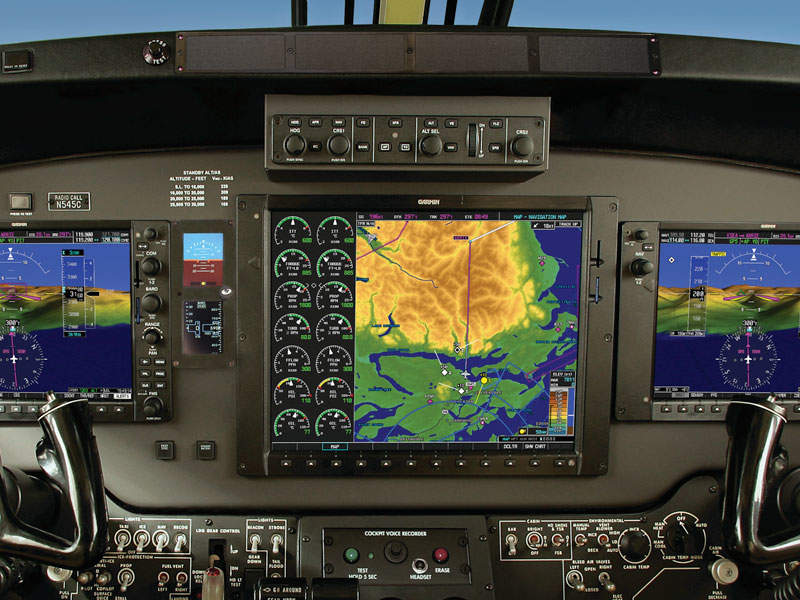 The aircraft is fitted with Garmin G1000 avionics. Image: courtesy of Nextant Aerospace, a Directional Capital Company.