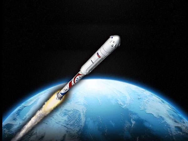Liberty is being developed by Alliant Techsystems under phase 2 of the NASA's CCDev2 programme. Image courtesy of NASA/ATK.