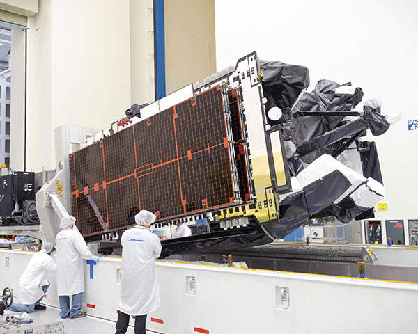 In July 2009, Boeing Satellite Systems was awarded a contract to design and develop the IS-21 satellite. Photo courtesy of Boeing.