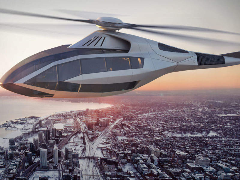 The helicopter can be customised to perform both passenger and cargo missions. Image: courtesy of Bell Helicopter.