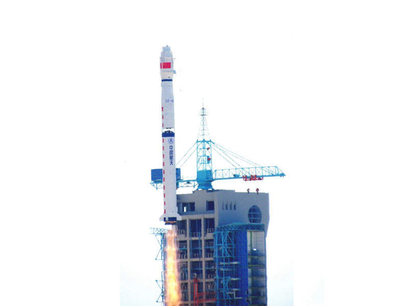 The satellite launch operations were carried out at the Jiuquan Satellite Launch Centre in north-west China. Image: courtesy of Institute of High Energy Physics (IHEP).