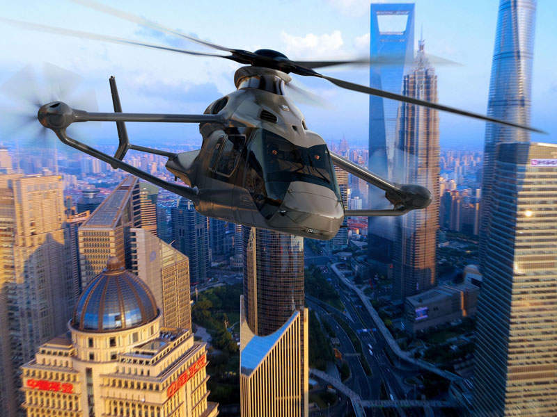 The helicopter's first flight tests are scheduled to take place in 2020. Image: courtesy of Airbus SAS.