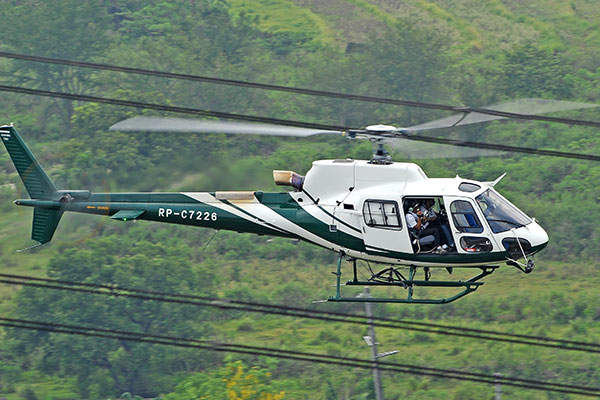 The AS350 B3e helicopter can be employed for wide range of operations such as power line check-ups and law enforcement. Image courtesy of Anthony Pecchi.