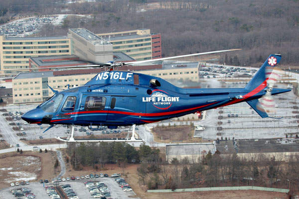 Life Flight Network ordered 15 AW119Kx helicopters.