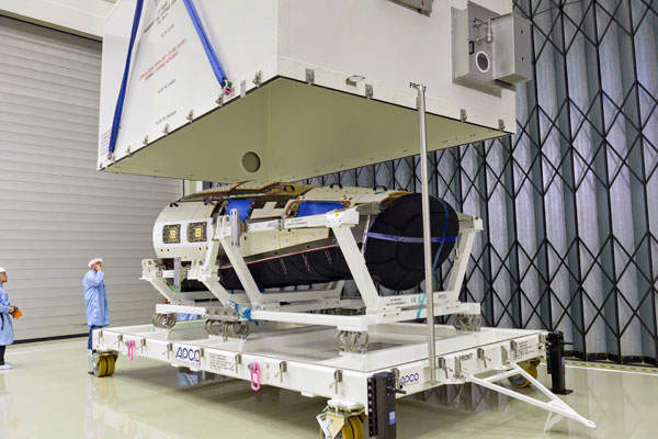 The IXV integration works were completed at the TAS facility located at Torino in Italy. Image courtesy of ESA–Anneke Le Floc'h.