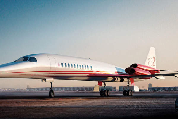 The Aerion AS2 is scientifically sculpted to achieve maximum speed. Image courtesy of Aerion Corporation.