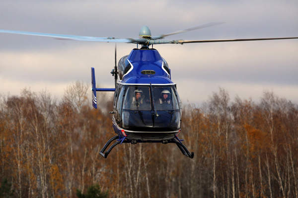The Ansat multirole civilian helicopter is expected to enter service in 2015. Image courtesy of Russian Нelicopters JSC.
