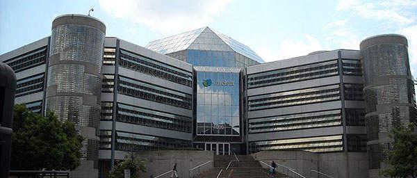 The International Telecommunications Satellite Organization (Intelsat) is the operator of the Intelsat series satellites. Image courtesy of AgnosticPreachersKid.