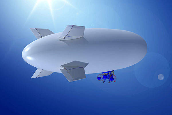 The Sky Dragon airship has a maximum speed of 51kt. Image courtesy of Worldwide Aeros Corp. (Aeros).