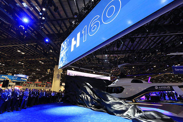 The H160 can be deployed for offshore transportation, business and private aviation, as well as public services and commercial passenger transport missions. Credit: Airbus Helicopters.