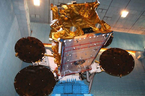 The Express-AM7 satellite was manufactured by Airbus Defence and Space. Image: courtesy of Russian Satellite Communications Company.