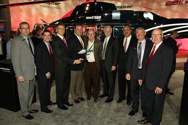 Air Methods Corporation signed an agreement with Bell Helicopter for 200 Bell 407GXP helicopters in March 2015. Image: courtsey of Bell Helicopter.