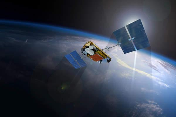 The first ten Iridium NEXT satellites were launched in January 2017. Image: courtesy of Iridium Communications Inc.
