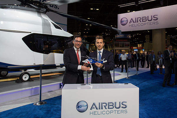 Airbus will deliver 17 H175 helicopters to Bristow Group. Image courtesy of Airbus Helicopters.