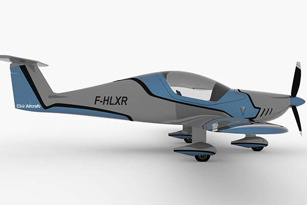 The first flight of the Elixir light aircraft is scheduled to take place in mid-2016. Image: courtesy of Elixir Aircraft.