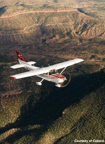Cessna announced the Skylane 182T in 2000.