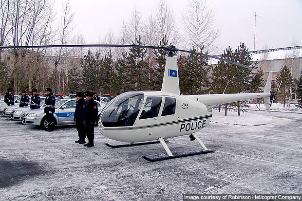 The Raven II is used for police services.