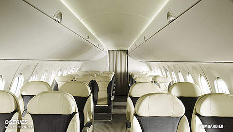 The CS300 jetliner