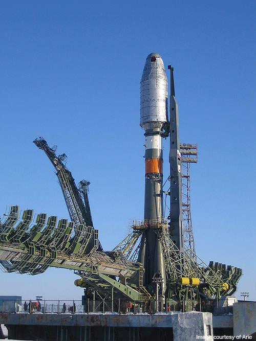 Glonass is launched on the piggyback of the Soyuz-2 rocket launcher.