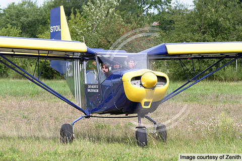 CH 801 is powered by a single Lycoming O-360 piston engine.