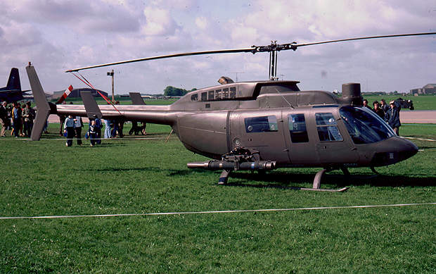 An earlier version of the Bell 427.