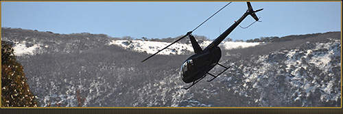 Chartered Aquila Helicopters