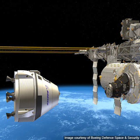 CST-100 will carry astronauts to the international space station (ISS) in 2016.