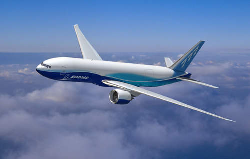 The Boeing 777F has a range of 4,895 miles (9,065km), allowing operation between city pairs such as Los Angeles and London, Tokyo and San Francisco and Paris and Hong Kong.