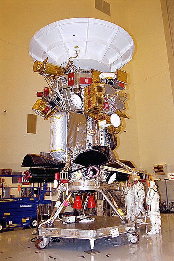 The Cassini-Huygens mission is being managed by Nasa's Jet Propulsion Laboratory (JPL) in Pasadena, California.