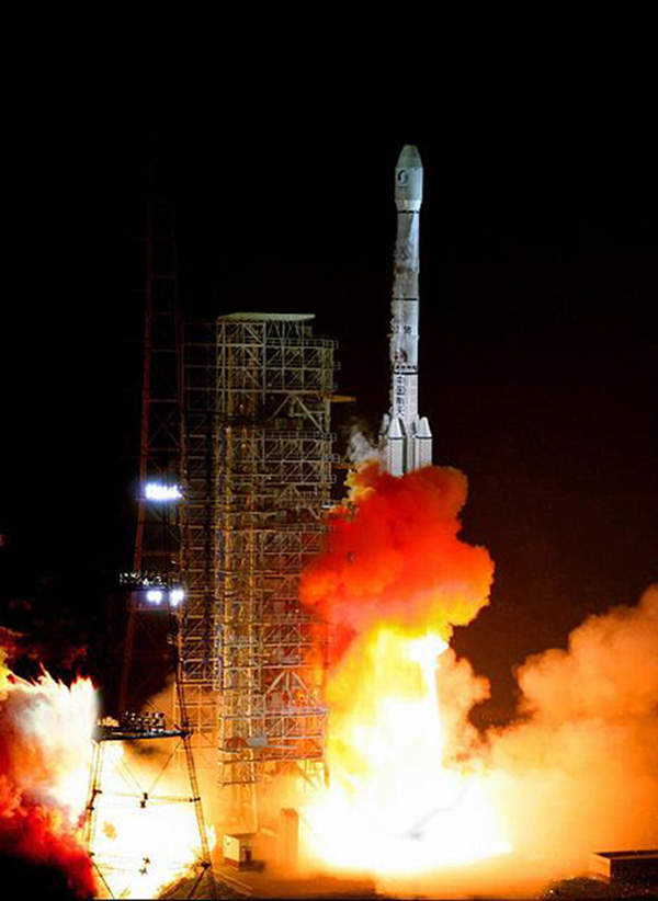 APSTAR 7 was launched using the powerful and advanced Long March 3B/E vehicle.
